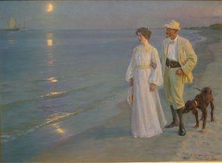 800px-P_S_Krøyer_1899_-_Sommeraften_ved_Skagens_strand._Kunstneren_og_hans_hustru